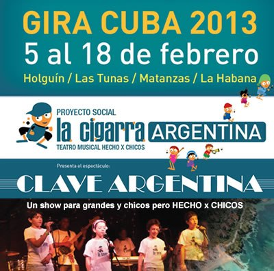 La Cigarra GIRA CUBA 2013